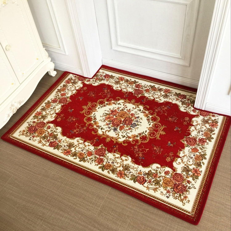 Doormat European Style,Home,Carpet Non-Slip mat The Door, Door,Door mats Foot pad Doormat-H 80x120cm(31x47inch)