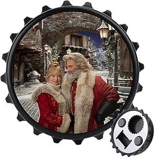 Jultomten flasköppnare ett lock mångsidig ölflasköppnare, möbler kylskåp dekoration klistermärke
