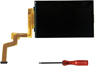 lenboes Original Top Upper LCD Screen Display Replacement for Nintendo New 2DS XL LL with Opening Tool