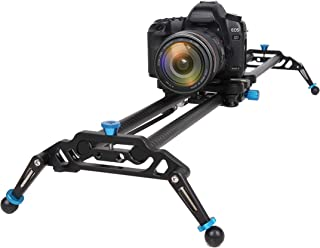 GVM Camera Slider, 31 Inches Electronic Manual Timelapse Camera Dolly Rail Slider , For DSLR Camera DV Video Camcorder Film Photography Load up to 15.4lbs(Without motor and remote control)