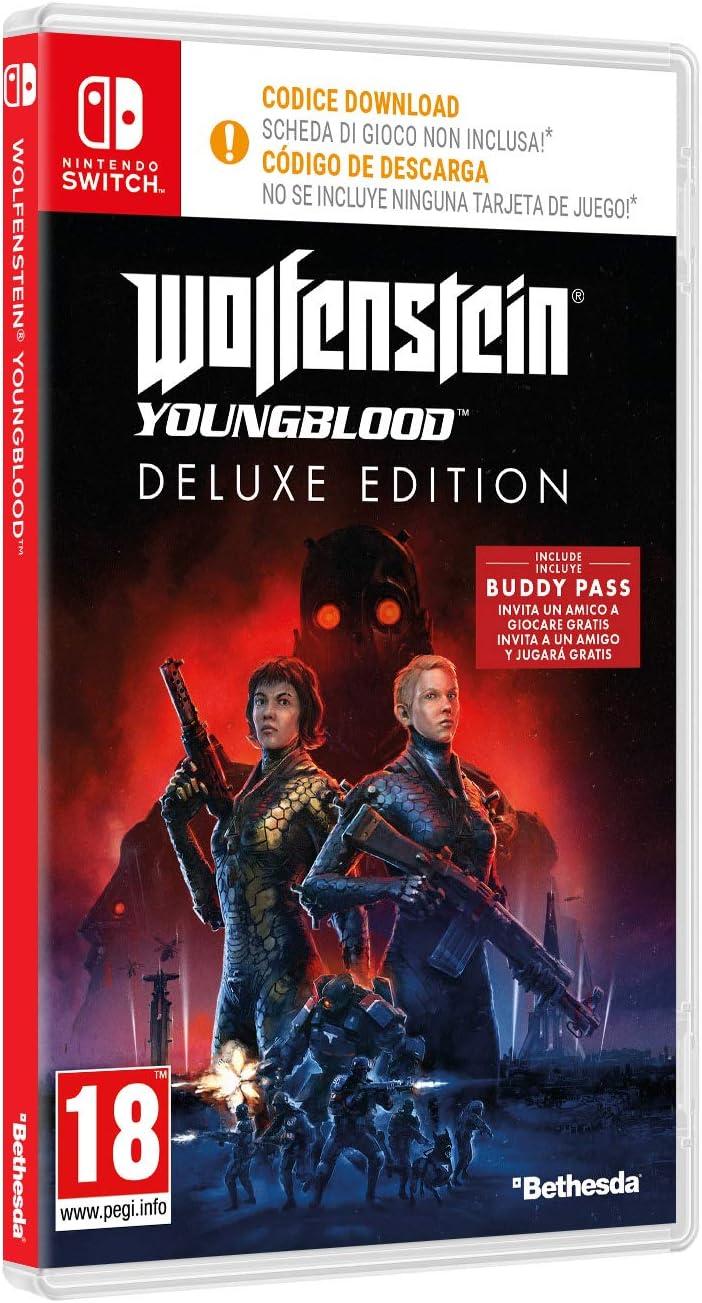 Wolfenstein Youngblood - Edición Deluxe Nintendo Switch