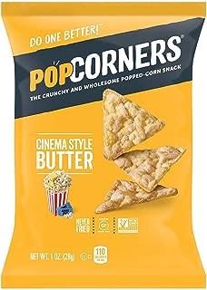 Pop Corners Cinema Butter Net Wt. 1 Ounce (Pack of 8)