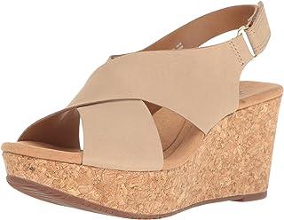 0598ec6159792d Amazon.com  CLARKS - Platforms   Wedges   Sandals  Clothing