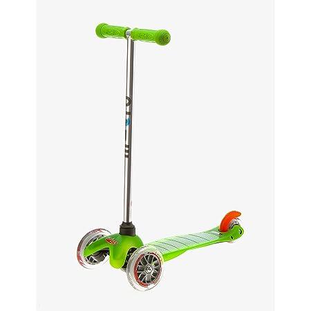 Mini-Micro®, el Original, Patinete 3 Ruedas, 2-5 Años, Super-Ligero 1,90kg, Carga Máx 50kg, Altura 68cm, Manillar Desmontable con un Click