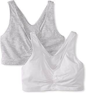 Hanes Women's Comfort-Blend Flex Fit Pullover Bra (2-Pack)