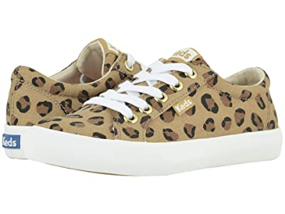 Keds Kids Jumpkick (Little Kid/Big Kid) (Leopard) Girl