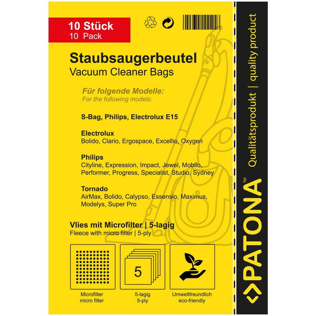 Megapack - 40x Bolsas de aspiradora para Philips HR 8300 8349 ...