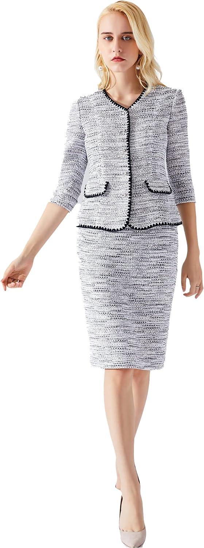 Mondial Atelier Women's Grey Pencil Skirt
