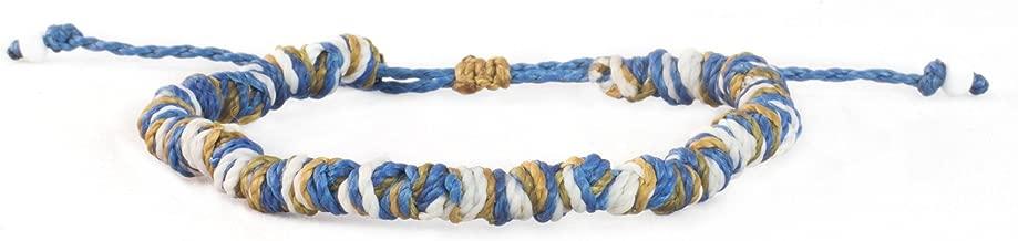Blue Horizon Surfer Bracelet for Women and Men Beach Surf Yoga Hippie Boho Chic Jewelry