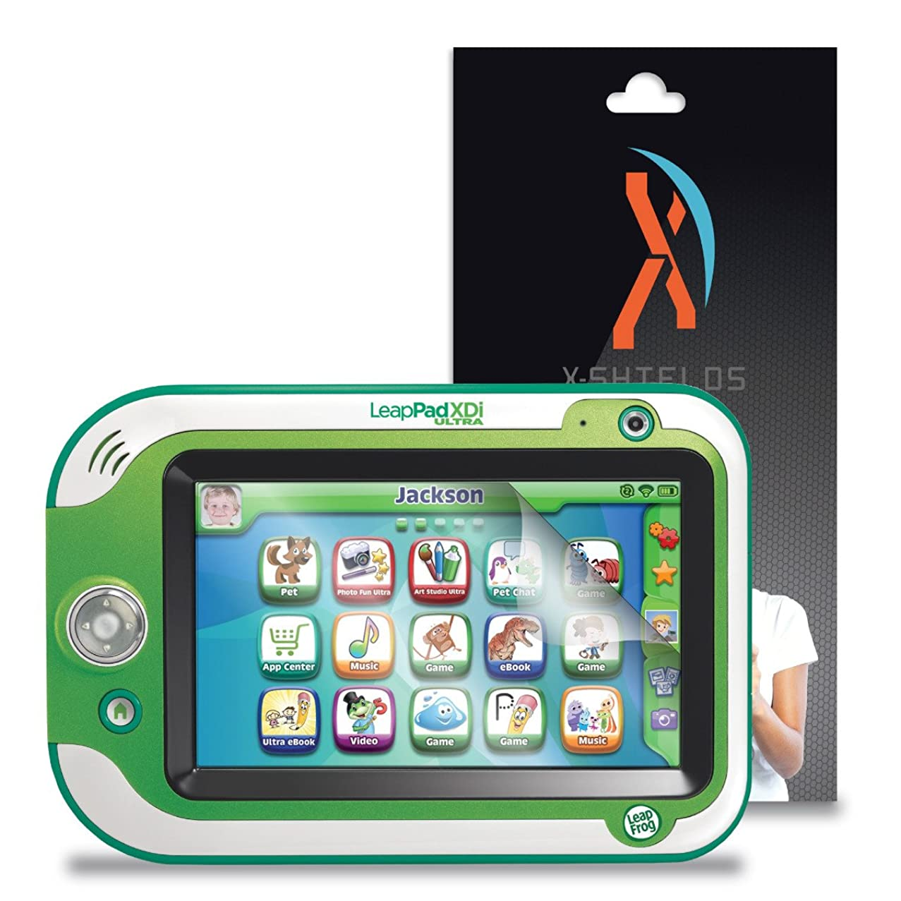 XShields? (5-Pack) Screen Protectors for Leapfrog LeapPad Ultra Xdi (Ultra Clear)