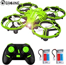 $29 » Mini Drones for Kids and Beginners, EACHINE E016H 2.4Ghz 6-Axis RC Nano Quadcopter with Altitude Hold Function for Beginner, 3D Flips,Headless Mode and Extra Batteries Easy to Fly