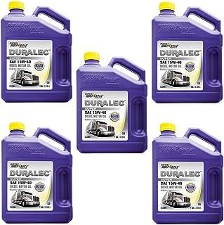 Royal Purple 83561 Set of 5 Maximum Performance 15W-40 Diesel Motor Oil 1-Gallon Bottles