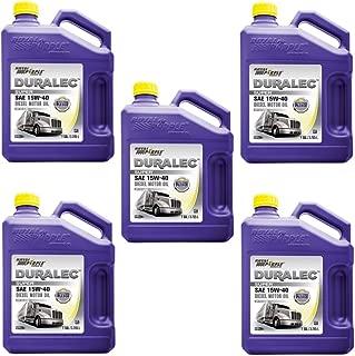 Royal Purple Duralec Ultra 15W40 Motor Oil - 1 Gallon Bottle (Pack of 5)