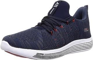 ACTION Men's Atg-75-Navy-Red_8 Navy Trekking Shoes-8 UK (42 EU) (ATG-75-NAVY-RED)