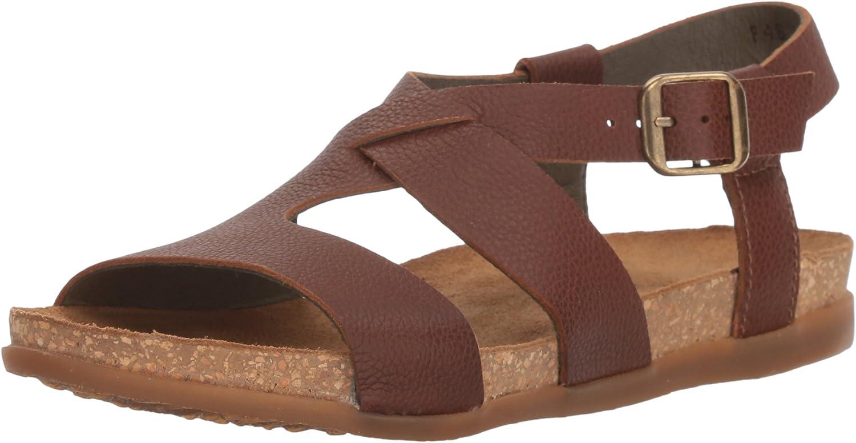 El Naturalista NF46 Soft Soft Grain Wood Zumaia Leder Damen Sandalen Schnalle  billig und hochwertig
