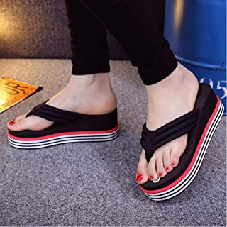 New Summer Flip Flops With Thick Bottom Beach Slippers