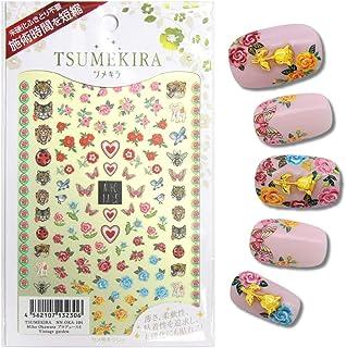 TSUMEKIRA Miho Okawara Product4 Vintage garden nail stickers gel art nail art design japan Product