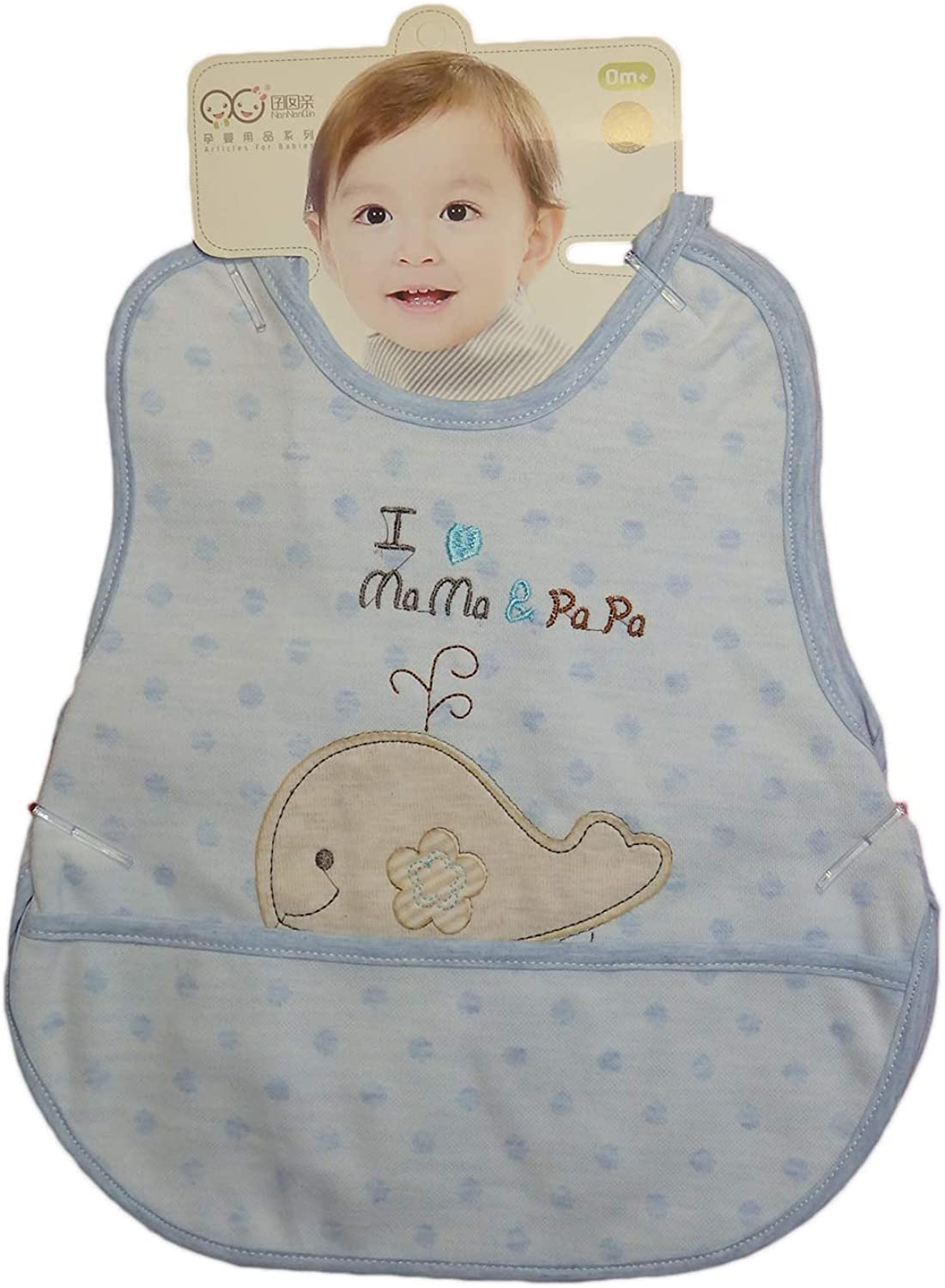 Babies Max 75% OFF and Toddlers Color Baltimore Mall cotton embroidered P with double-sided
