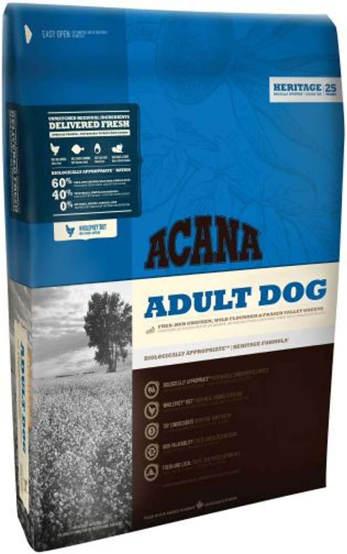 Acana Heritage Adult Grain Free Dry Dog Food  11.4kg