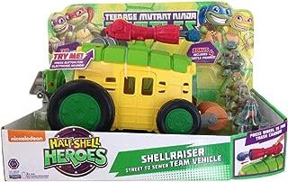 Teenage Mutant Ninja Turtles Half-Shell Heroes Shellraiser Street to Sewer Team Vehicle with Bonus Figures