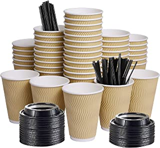 Best black disposable coffee cups Reviews