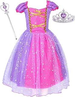 Princess Rapunzel Costume Baby Girls Dress