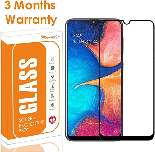 Opentech Edge Tempered Glass Screen Protector For Samsung Galaxy M21 M31 M30s M30 A30 A50 A50s With Installation Kit
