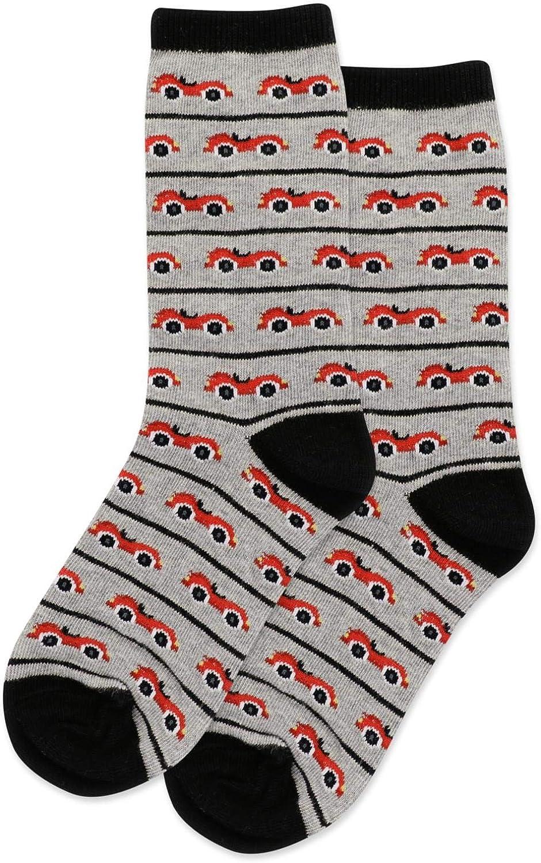 Hot Sox Kids Race Car Crew Socks