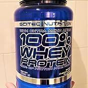 Scitec Nutrition 100% Whey Protein con aminoácidos adicionales, 2.35 kg, Tiramisú