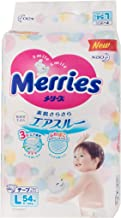 Merries Diapers L Size 54 Sheets 19~30 lbs