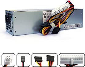 POINWER H240AS-01 2TXYM 3WN11 H240AS-00 709MT 240W Optiplex 7010 SFF Power Supply for Dell Optiplex 390 790 990 3010 9010 Small Form Factor Systems CCCVC 3RK5T F79TD L240AS-00 H240ES-00 D240ES-00