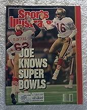 Joe Montana - San Francisco 49ers - Super Bowl XXIV Champions! - Sports Illustrated - February 5, 1990 - Denver Broncos - SI