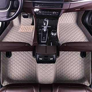 8X-SPEED Custom Car Floor Mats for Toyota Land Cruiser Driving seat Slide Rubber Shell is Flat 5-Seats 2010-2015 Full Coverage All Weather Protection Waterproof Non-Slip Leather Liner Set