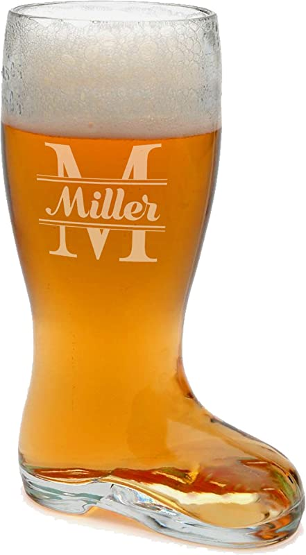 Custom Engraved Boot Glass Beer Mug Personalized 1 Liter Das Boot Beer Stein For Oktoberfest Bachelor Gift Restaurants Parties
