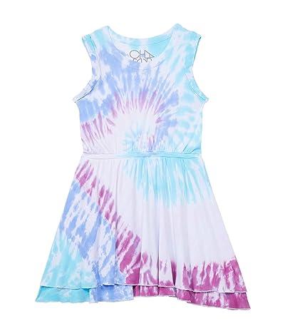 Chaser Kids Baby Rib Rolled Armhole Tank Dress (Little Kids/Big Kids)