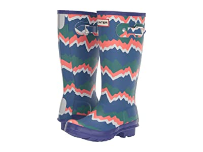 Hunter Kids Original Storm Stripe (Little Kid/Big Kid) (Electric Storm) Kid