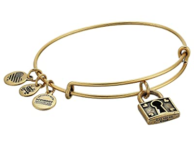 Alex and Ani Unbreakable Love Bangle Bracelet (Rafaelian Gold) Bracelet