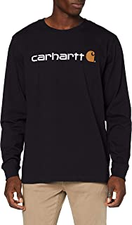 Carhartt Men's Long-sleeve Workwear Signature Graphic T-shirt - Core Logo