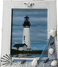 UberLyfe Beach Theme Table Mounted Photo Frame - 15.2cm x 20.3cm - Shells (PF-000611-TMSHL68_01)