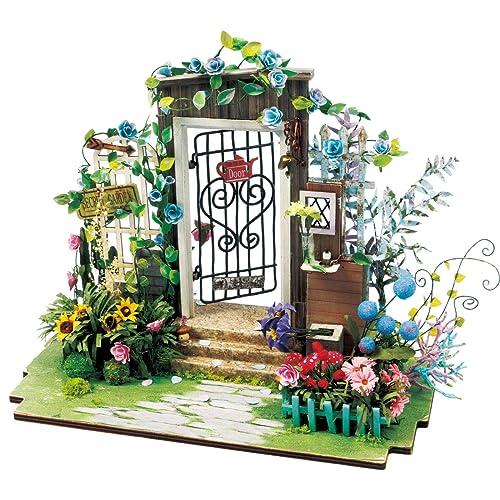 Dollhouse Toy Furniture Garden Flower Umbrella Home Miniature Decorative GiftC@M