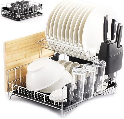 PremiumRacks-Professional-Dish-Rack-304-Stainless-Steel