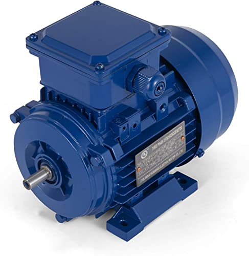 discount Mophorn 1/6 HP Electric Motor 3 Phase 0.13 popular KW Rate Speed 2760 RPM Standard Motor B3 Flange online sale Mounted online