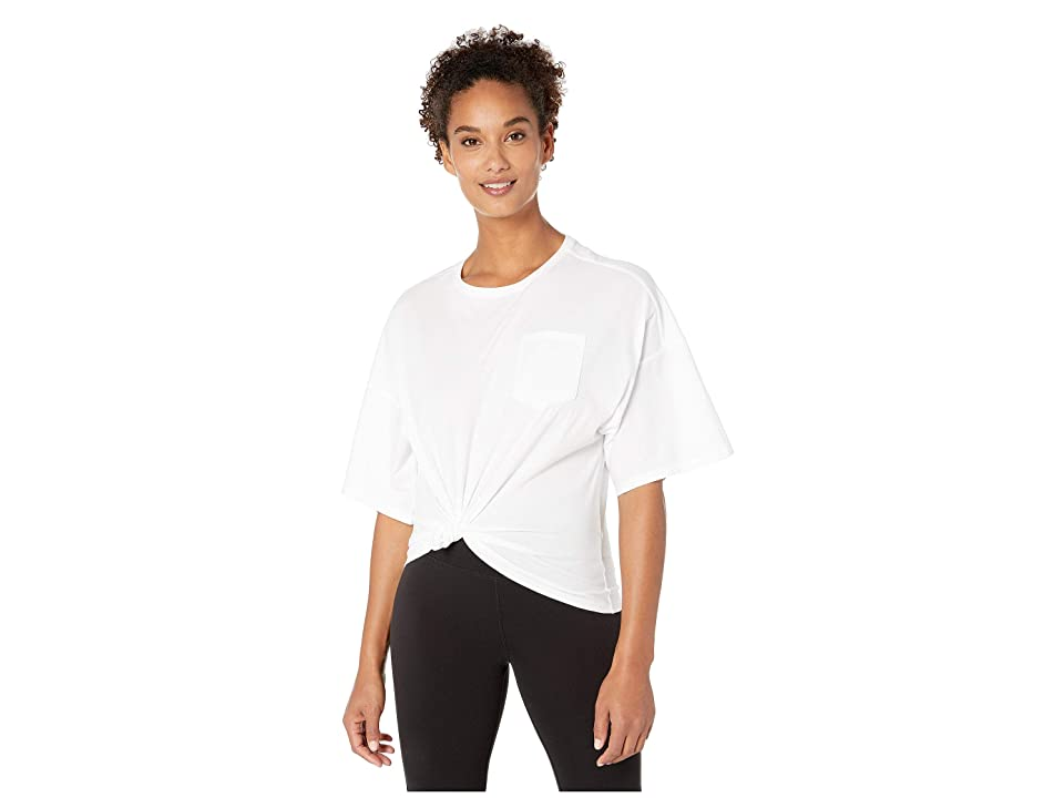 Reebok Training Pocket Tee (White) Women