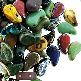 picasso glass beads