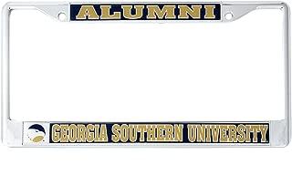 Desert Cactus Georgia Southern University Alumni Metal License Plate Frame for Front Back of Car Officially Licensed GSU Eagles (Alumni)