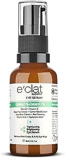 e'clat Superior Eye Serum Caffiene 5%, Eyeseryl 1% Retinol, Vitamin C, Green Tea, Carrot Seed, Soyabeen Extract, Red Ginse...