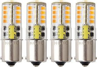 Ba15s 1156 p21/5w 12v LED Ampoule, HRYSPN 5 W Blanc chaud 3000 K 500lm, Feu Recul,Frein..