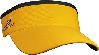 أغطية الرأس الواقية من الشمس / السباق / الجري / قناع رياضي خارجي ، أصفر ، مقاس واحد