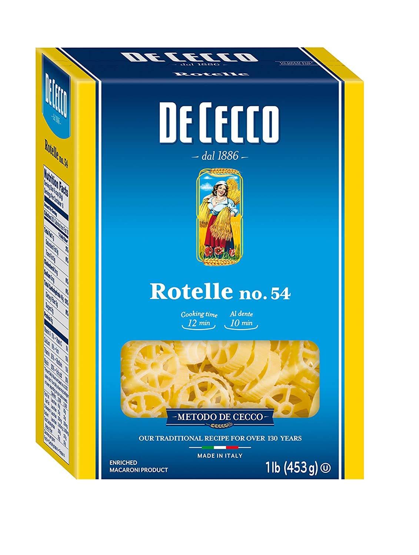 De Cecco Semolina Pasta Rotelle of Pound Pack No.54 1 Tulsa Mall Ranking TOP20