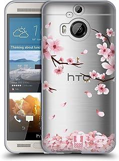 Head Case Designs 繝√ぉ繝ェ繝シ繝悶Ο繝・し繝 繝悶Ο繝・し繝・・Μ繝シ繝・HTC One M9+ 蟆ら畑繧ス繝輔ヨ繧ク繧ァ繝ォ繧ア繝シ繧ケ